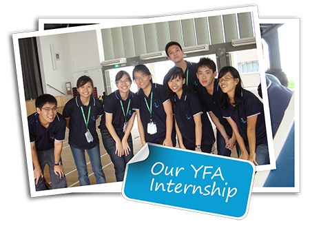 Our YFA Internship